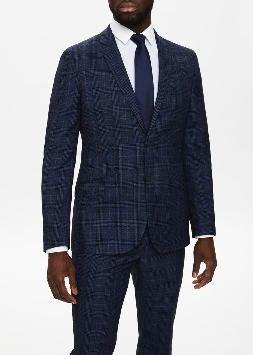 Keswick Slim Fit Check Suit Jacket