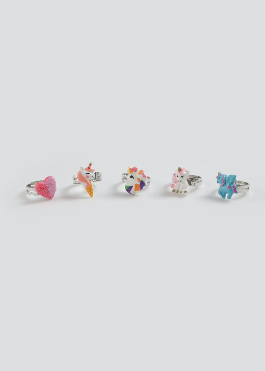 Girls Unicorn Ring Gift Set