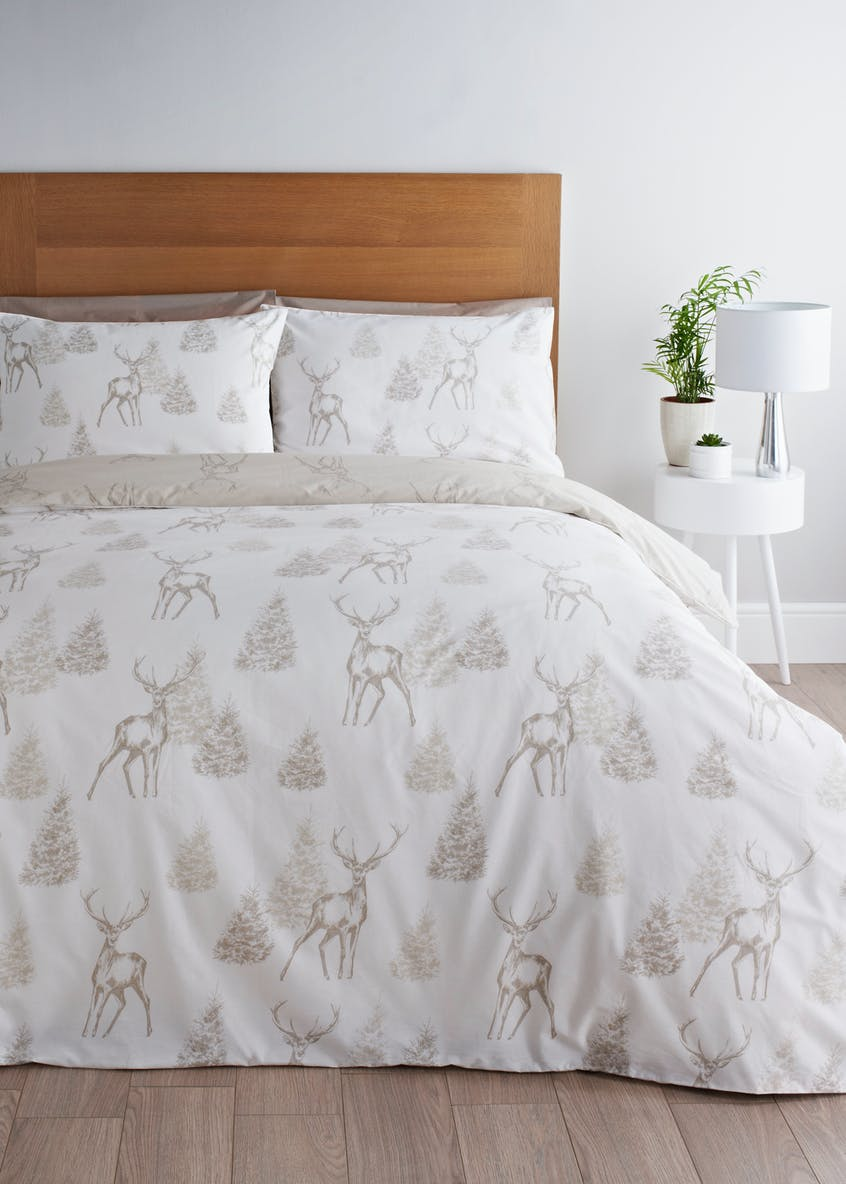 Stag Christmas Duvet Cover