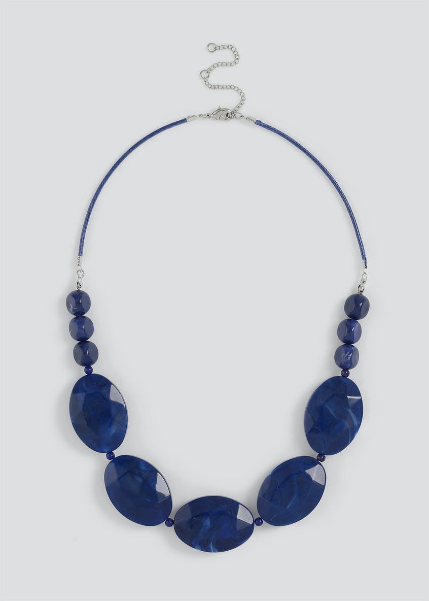 Pebble Statement Collar Necklace