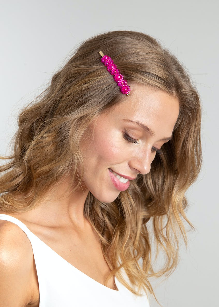 Facet Sparkle Hair Slide