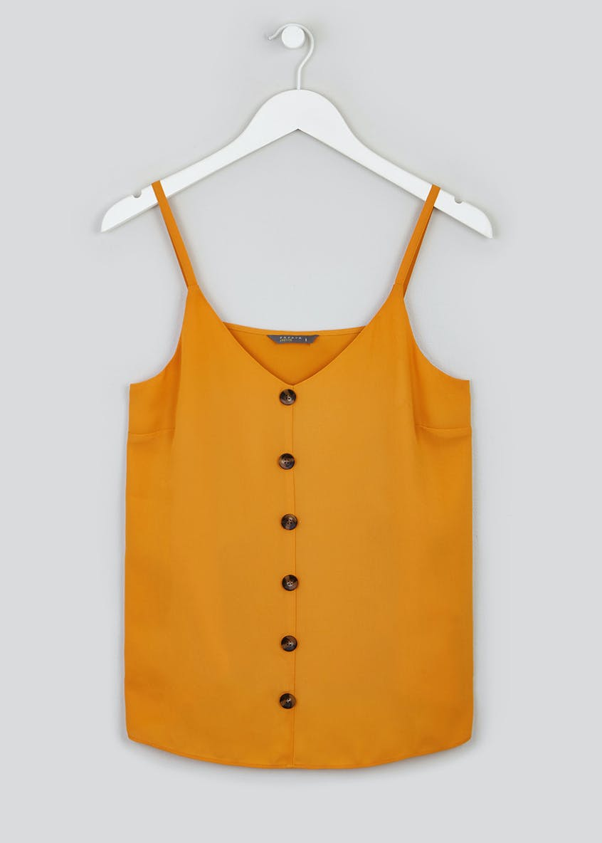 Papaya Petite Button Front Cami