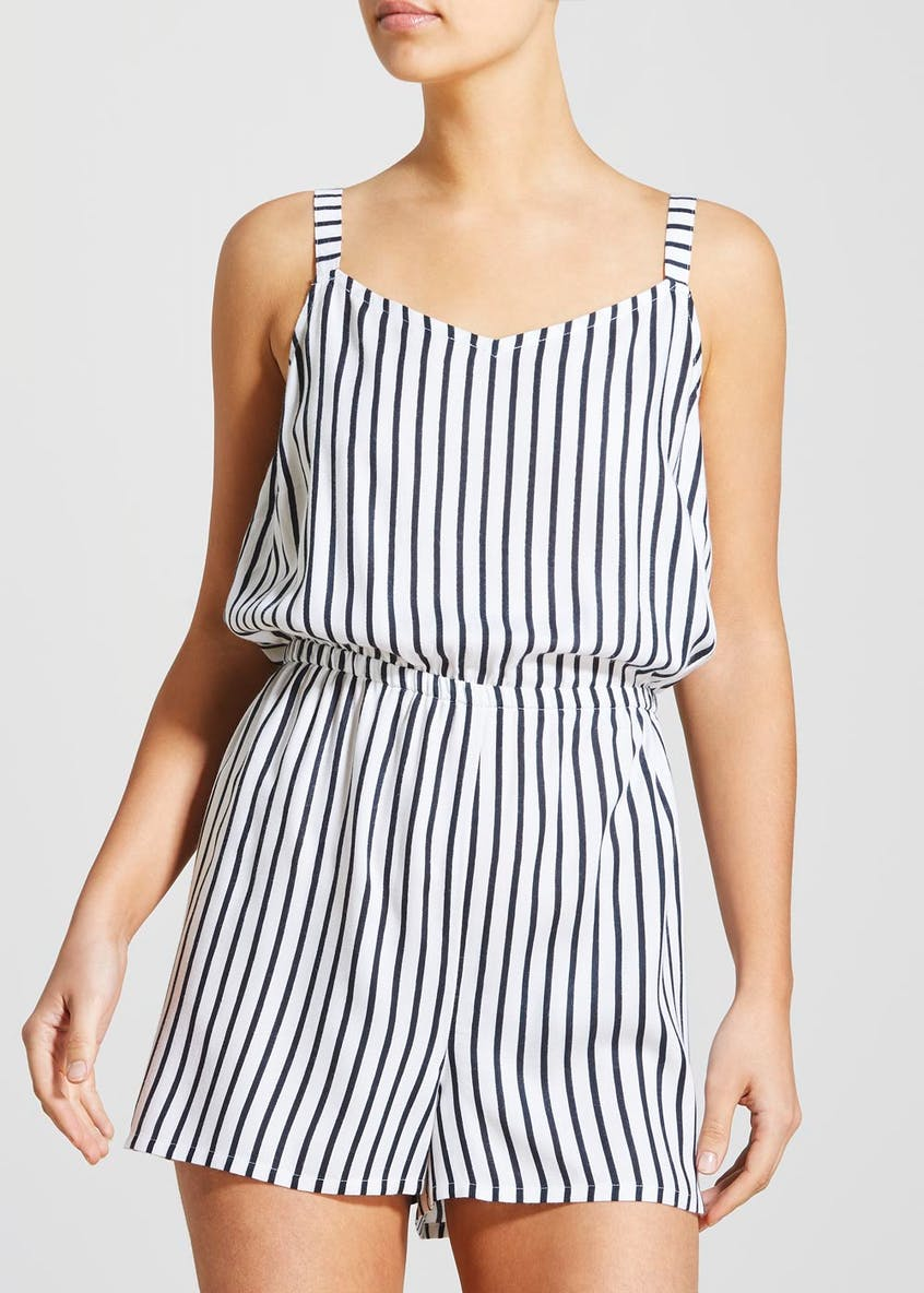 Stripe Playsuit