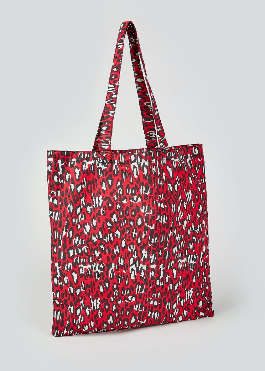 Animal Print Shopper Bag
