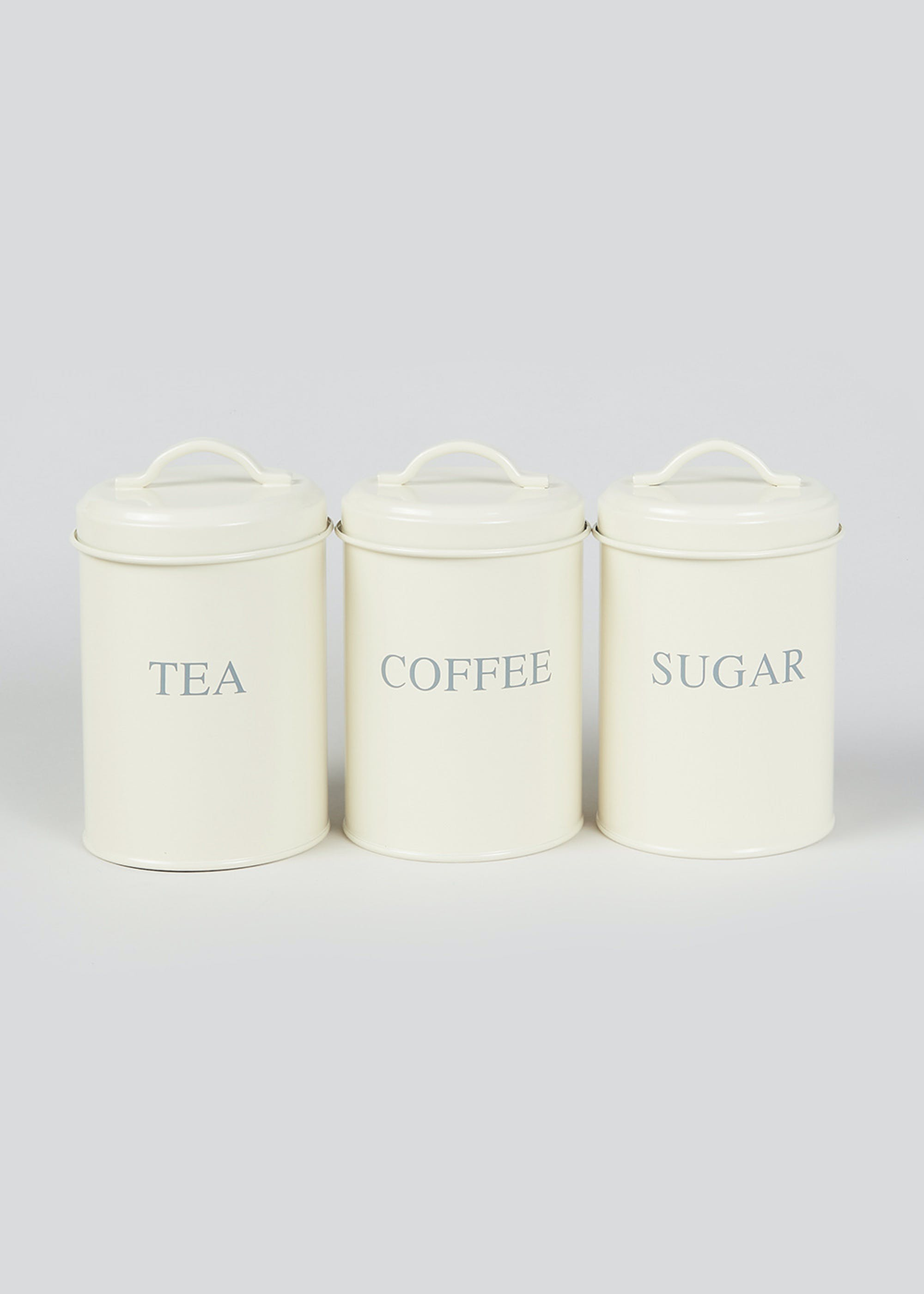 3 Pack Kitchen Canisters Cream 8czZlr
