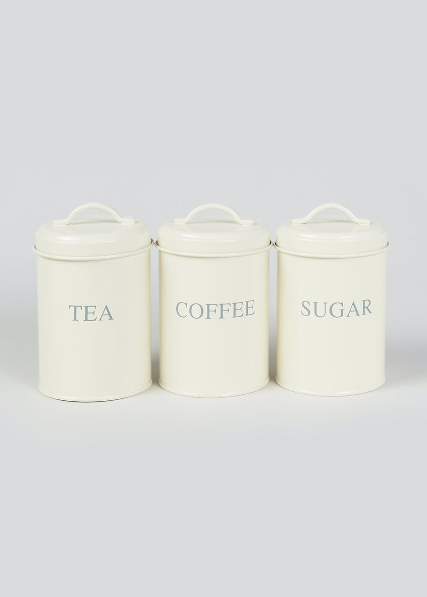 3 Pack Kitchen Canisters
