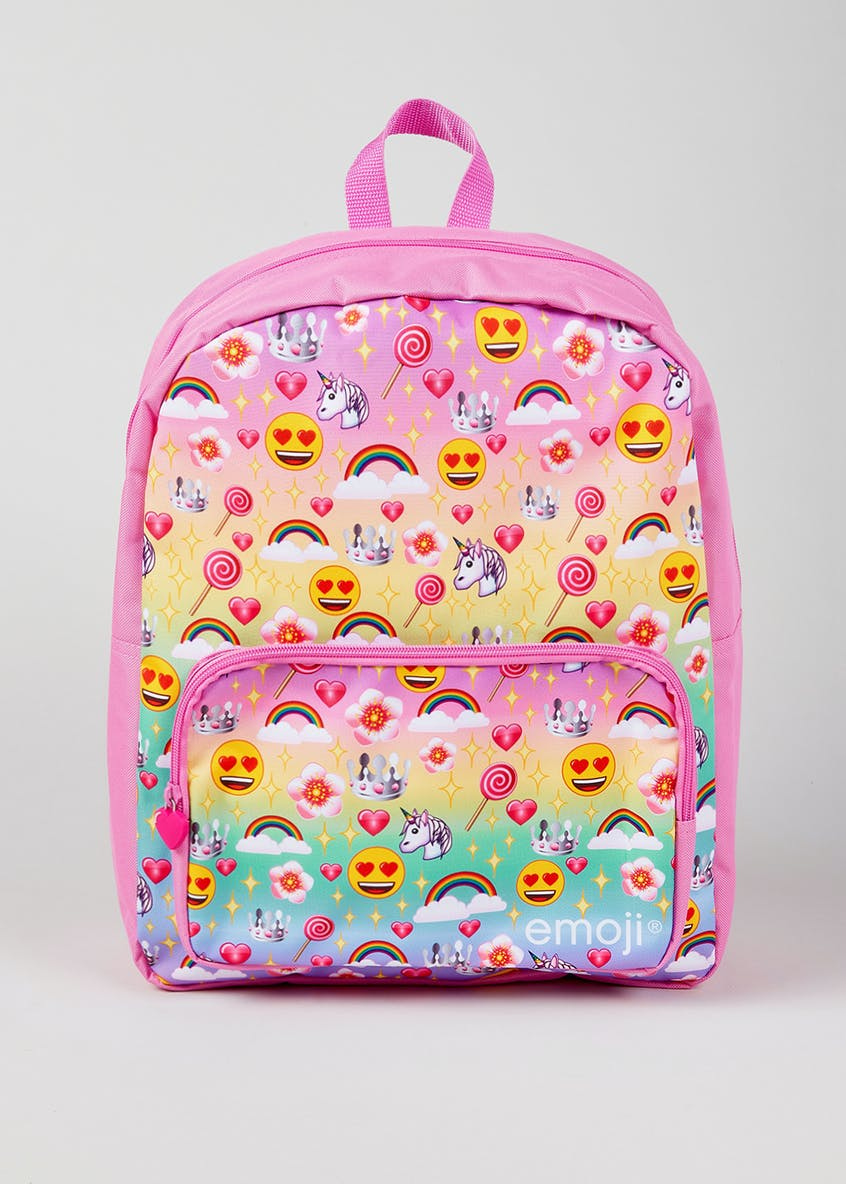 Kids Unicorn Emoji Backpack