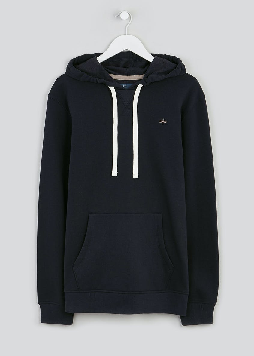Pull on Embroidered Hoodie