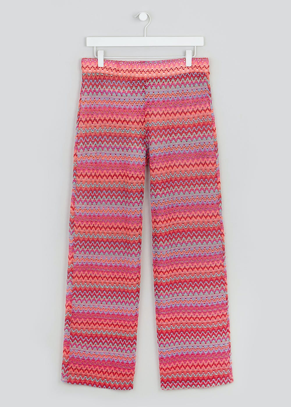 f4e72a1cf3 Stitched Co-Ord Beach Trousers – Pink – Matalan