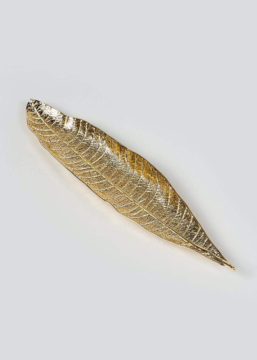 Feather Trinket Dish (28cm x 6cm x 2cm)
