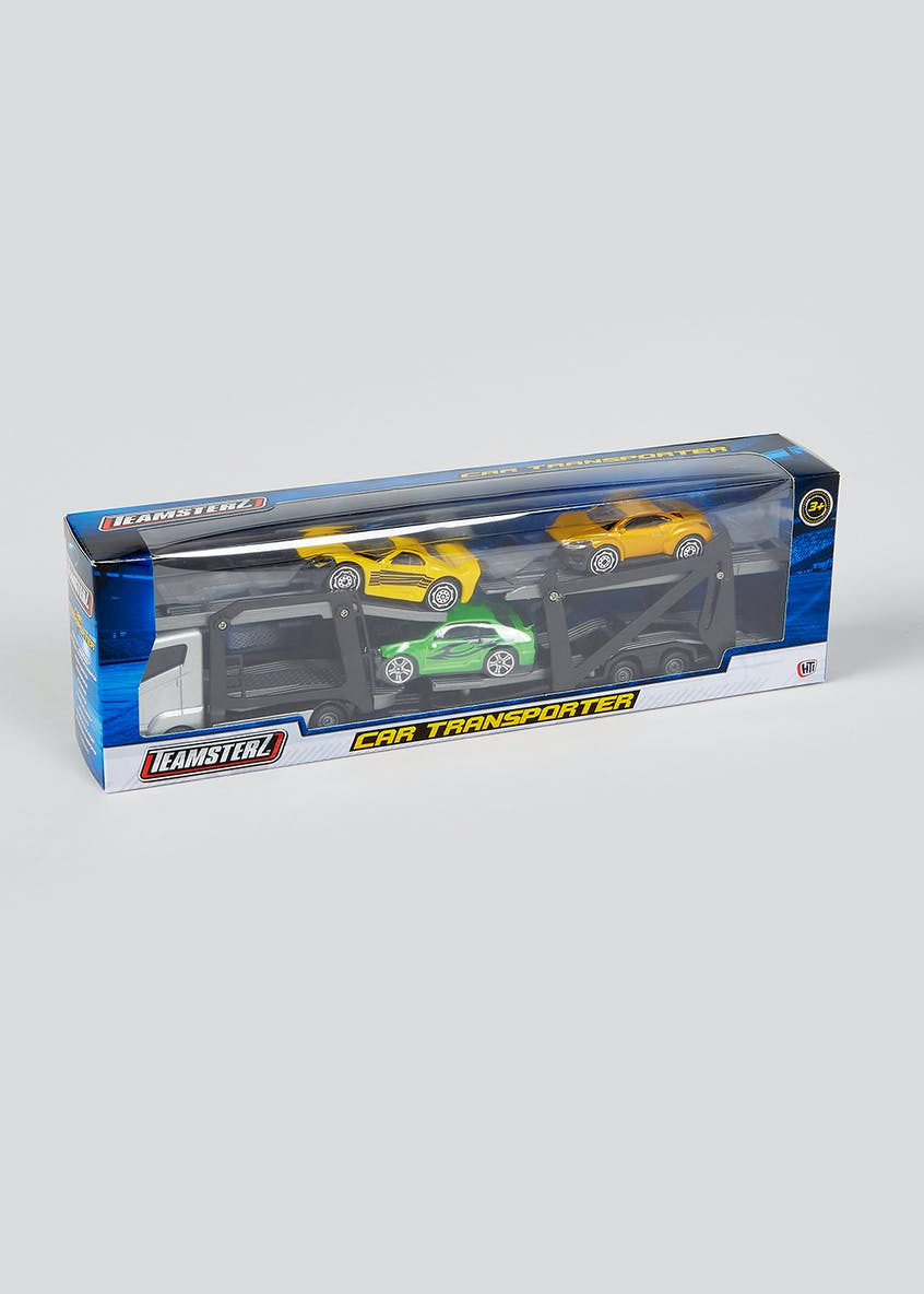 Kids Teamsterz Car Transporter Set