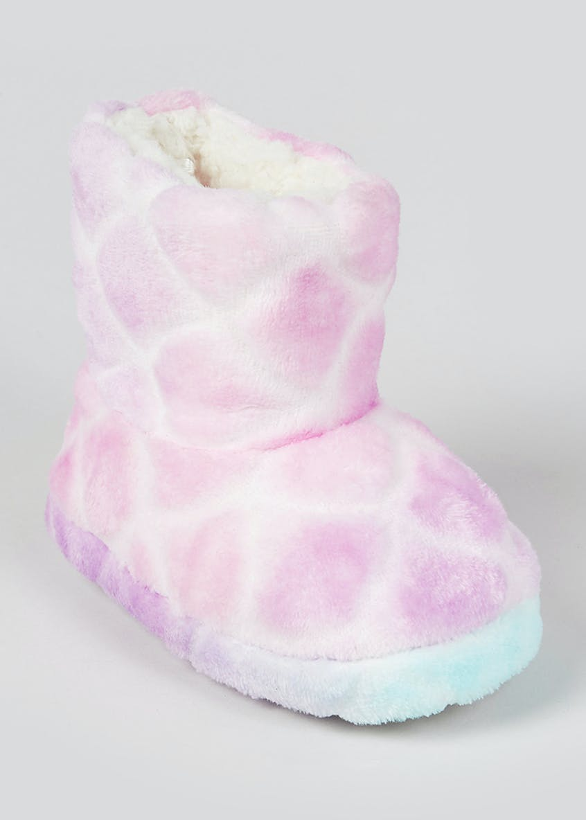 Girls Mermaid Slipper Boots (Younger 4-12)