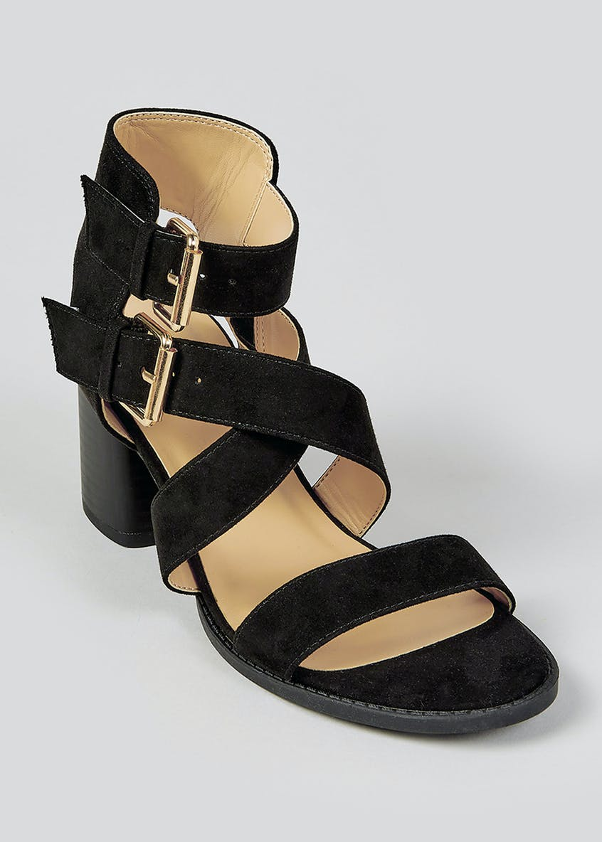 Strappy Heeled Sandals