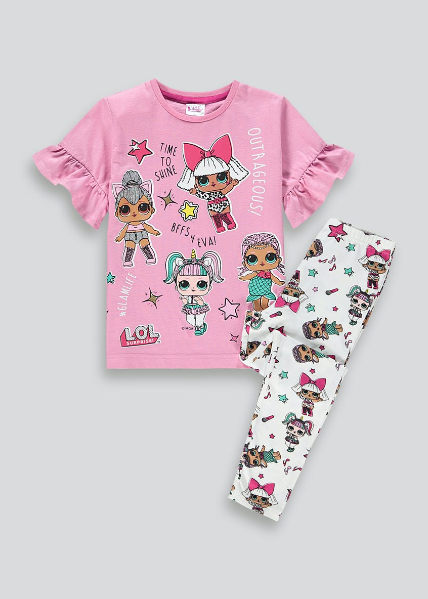 Girls L.O.L. Surprise Pyjama Set (4-10yrs)