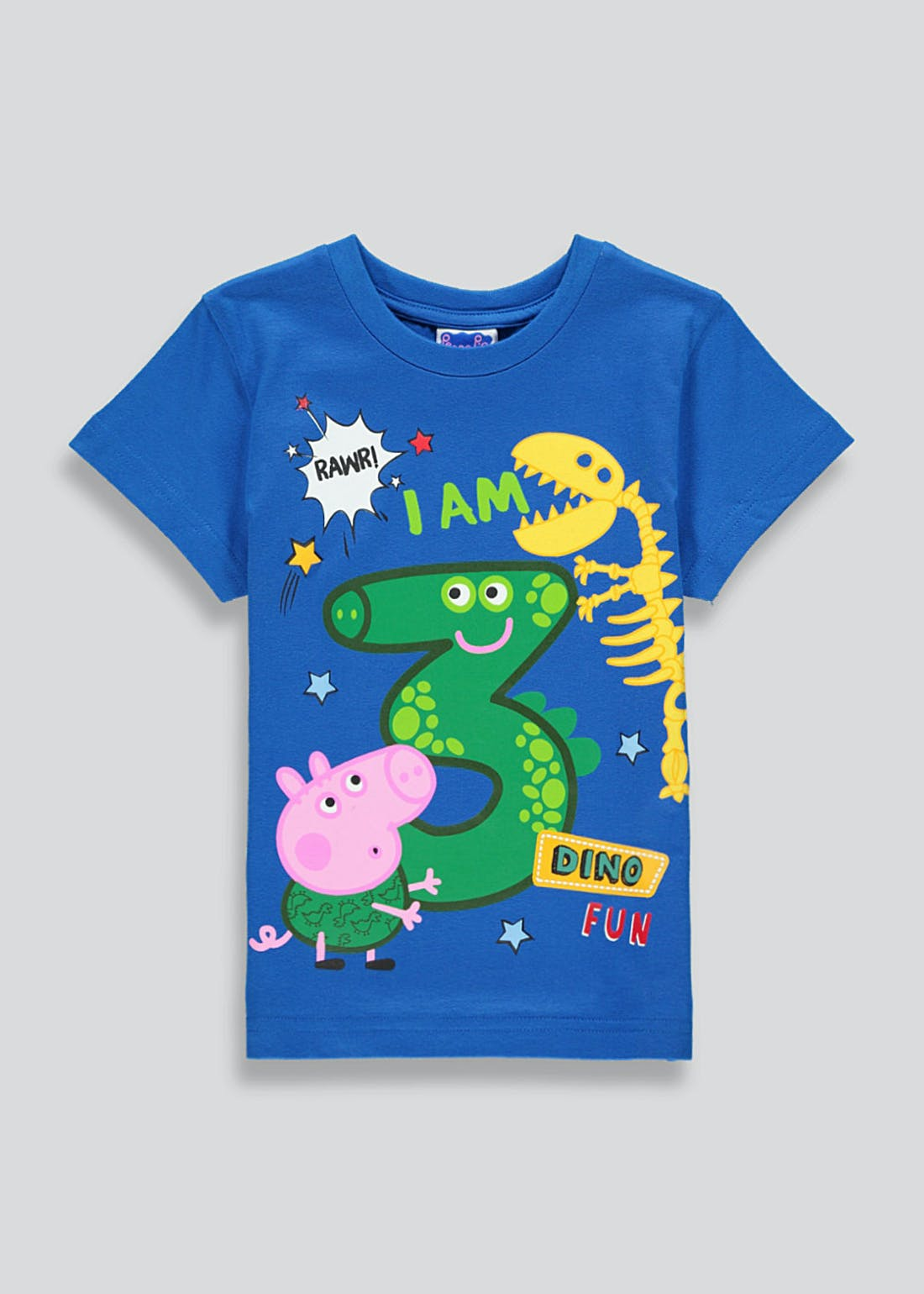 Kids George Pig I am 3 T-Shirt (3yrs)