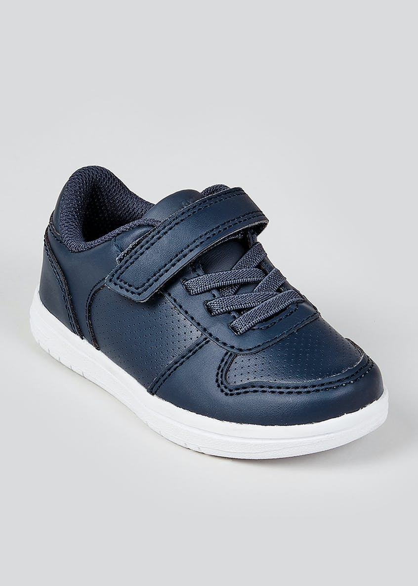 Boys Elastic Lace Trainers (Younger 4-12)