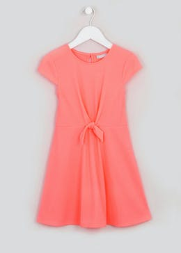 Girls Ribbed Skater Dress (4-13yrs)