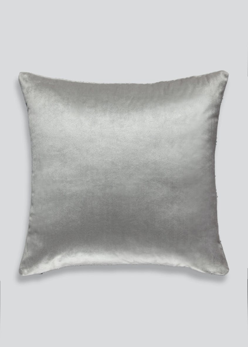 Sequin Border Cushion (46cm x 46cm)