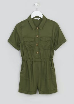 Girls Candy Couture Utility Playsuit (9-16yrs)
