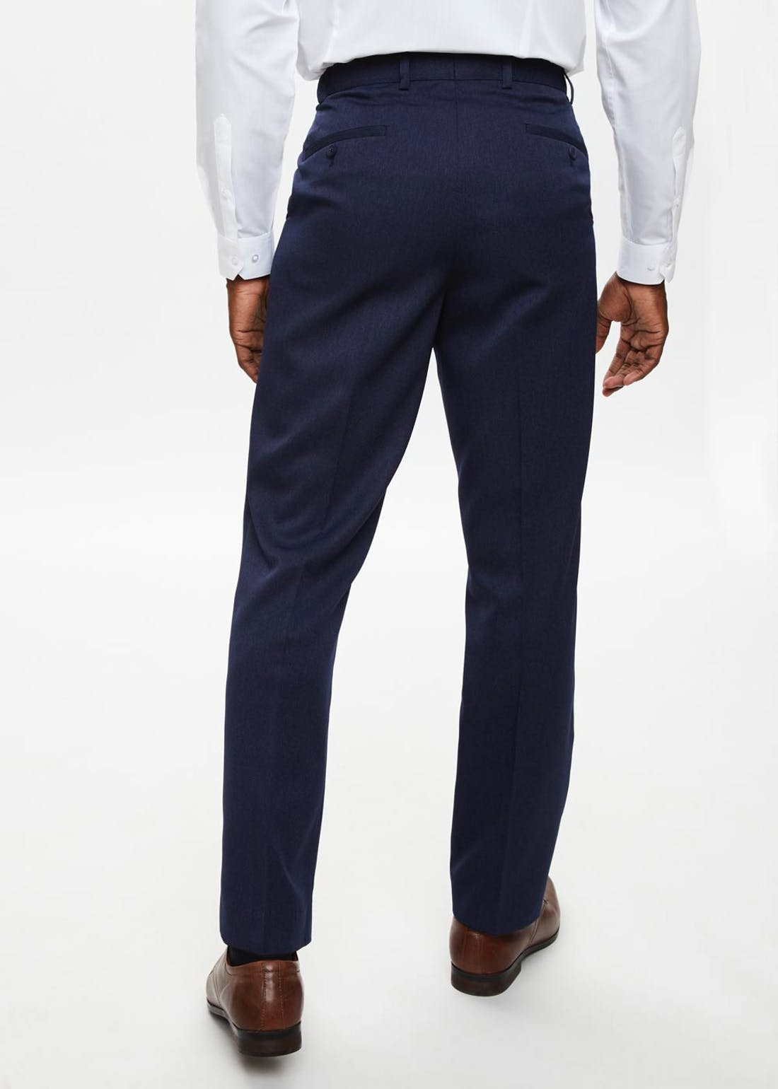 Taylor & Wright Brushed Twill Flexi Waist Trousers
