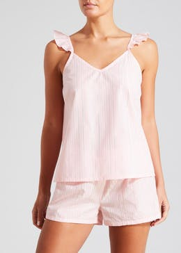 Shimmer Stripe Short Pyjama Set