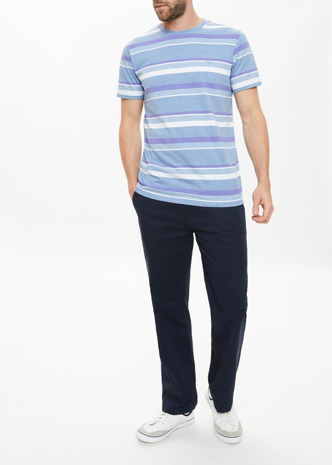 Lincoln Marl Stripe T-Shirt