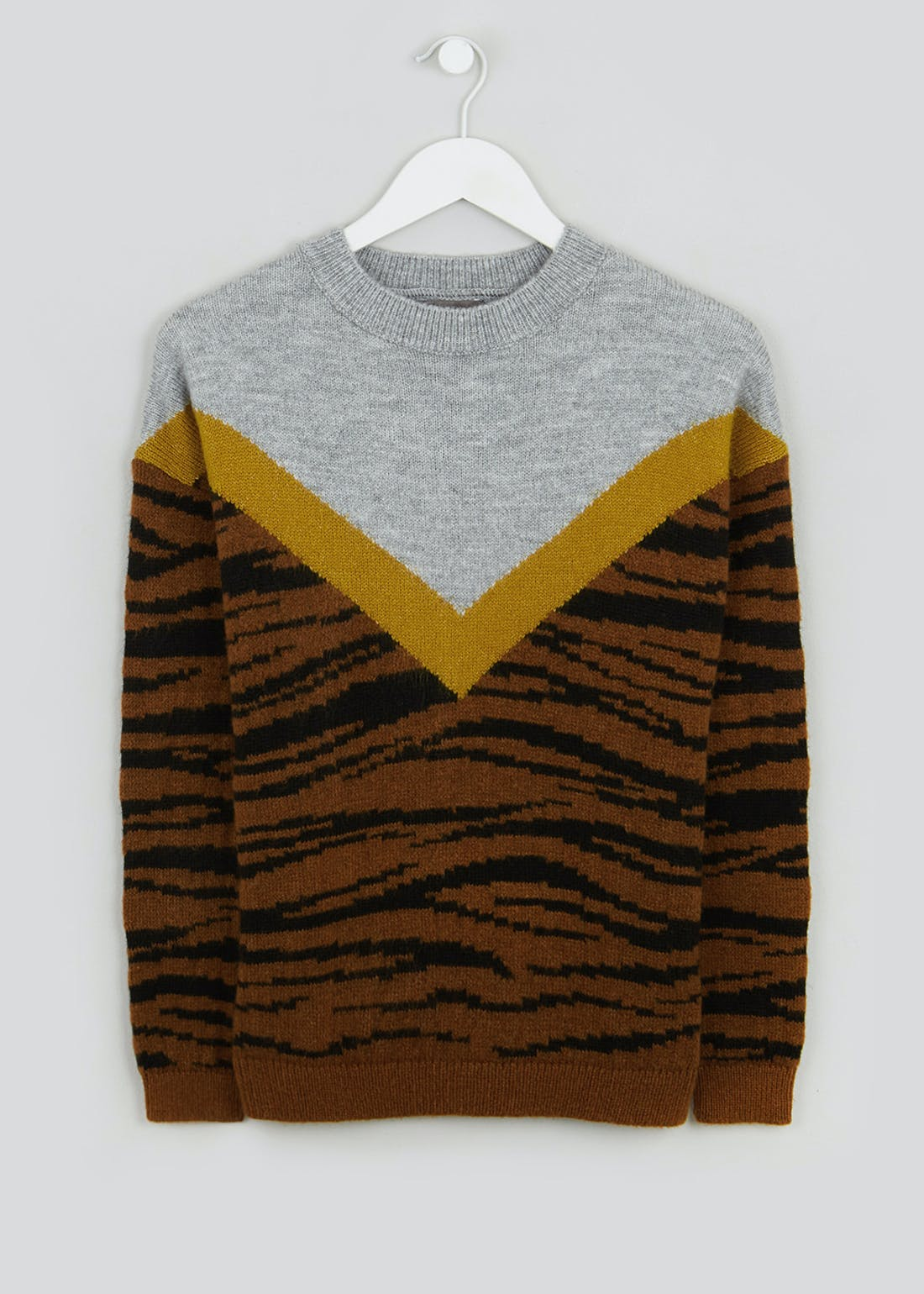 Animal Chevron Jumper