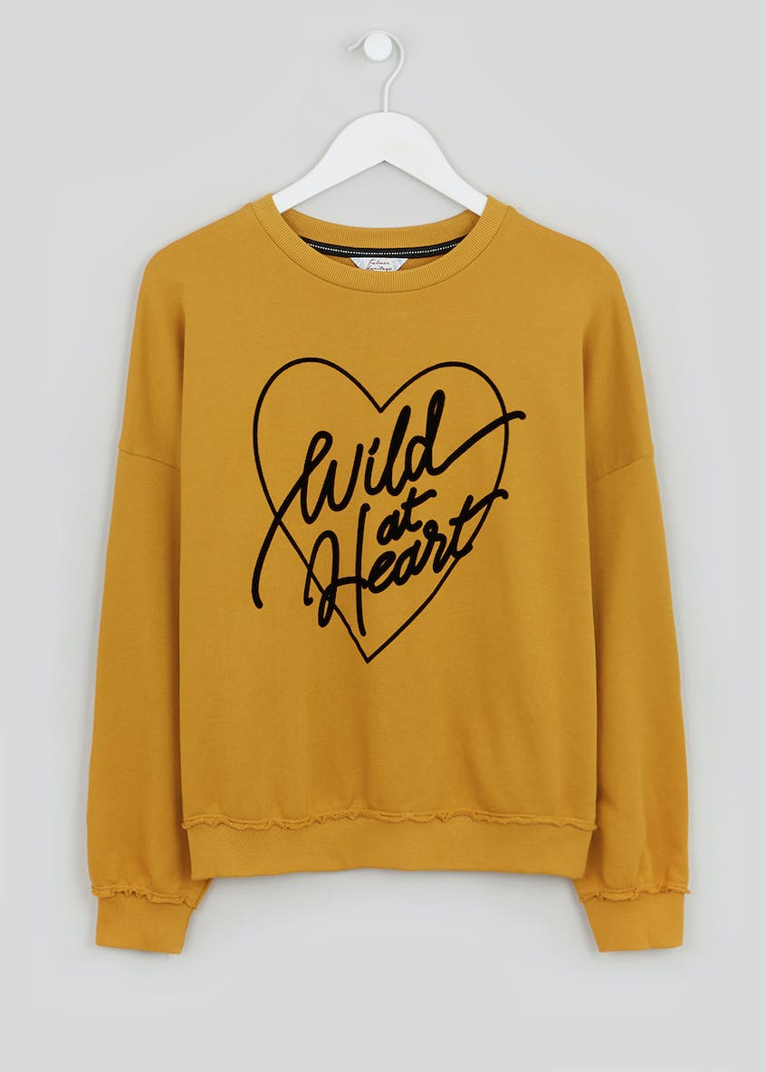 Falmer Wild at Heart Slogan Sweatshirt