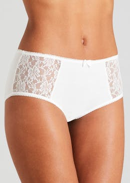 3 Pack Lace Modal Short Knickers