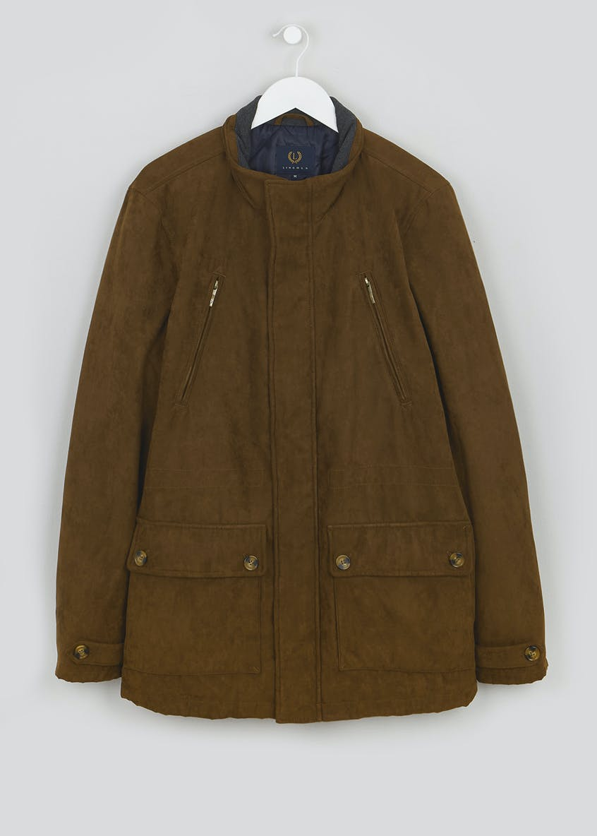 Lincoln Brown Bronebury Suedette Jacket