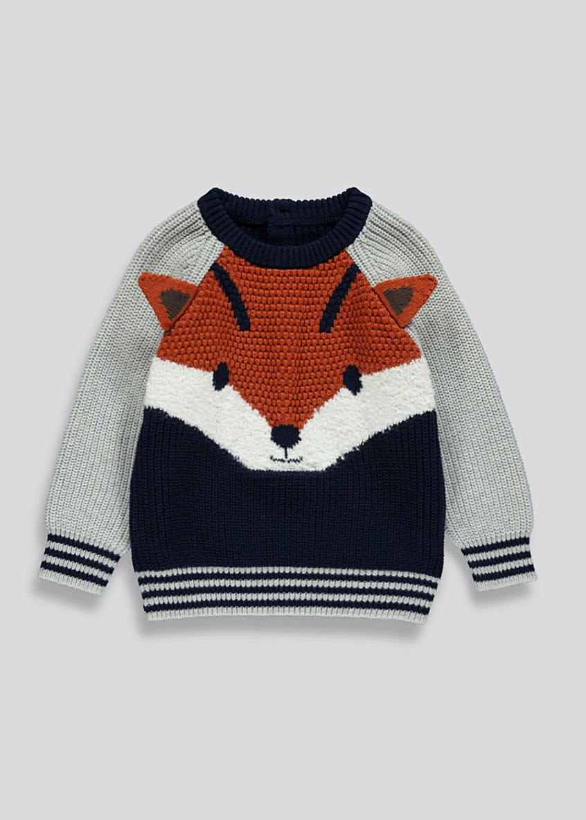 Kids Fox Jumper (9mths-6yrs)