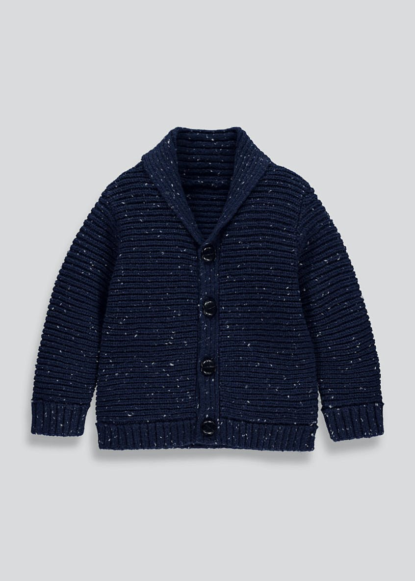 Boys Roll Neck Cardigan (9mths-6yrs)