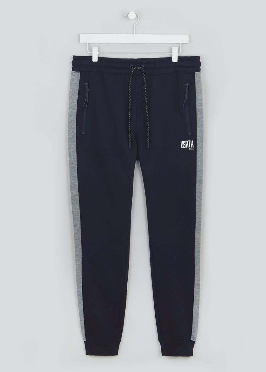 US Athletic Panel Jogging Bottoms