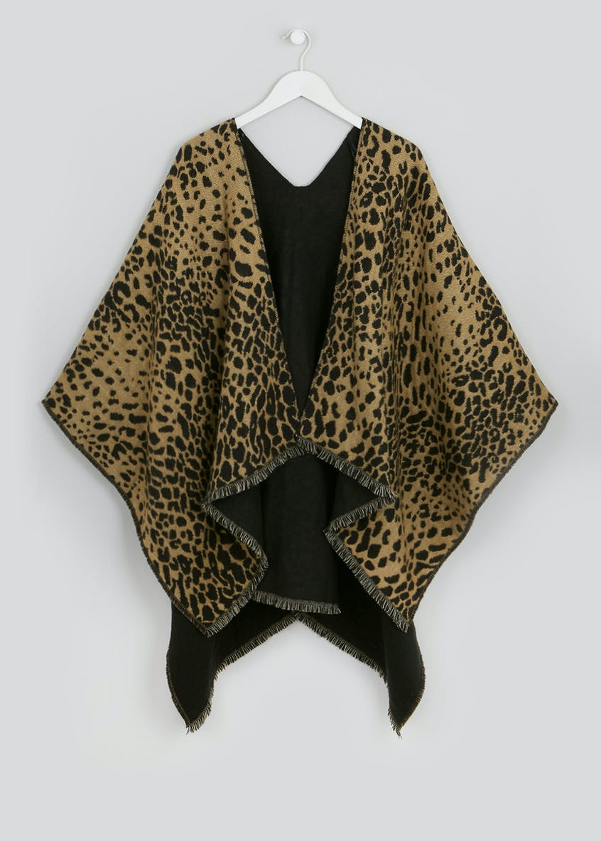 Animal Print Shawl