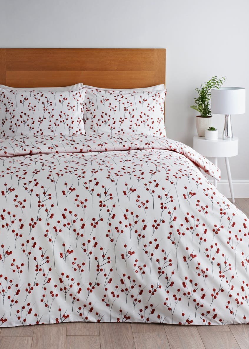 Berry Print Duvet Cover