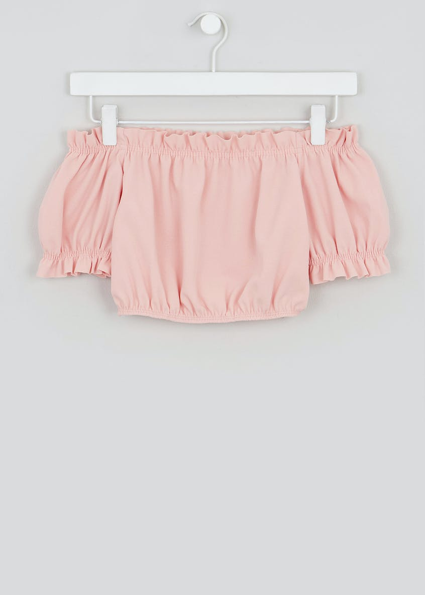 Girls Candy Couture Co-Ord Bardot Top (9-16yrs)