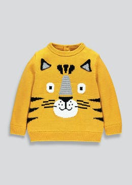 Boys Knitted Tiger Jumper (9mths-6yrs)