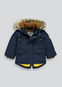 Boys Shower Resistant Parka Coat (9mths-6yrs)