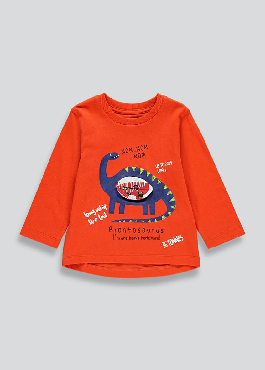 Kids 3D Dinosaur T-Shirt (9mths-6yrs)