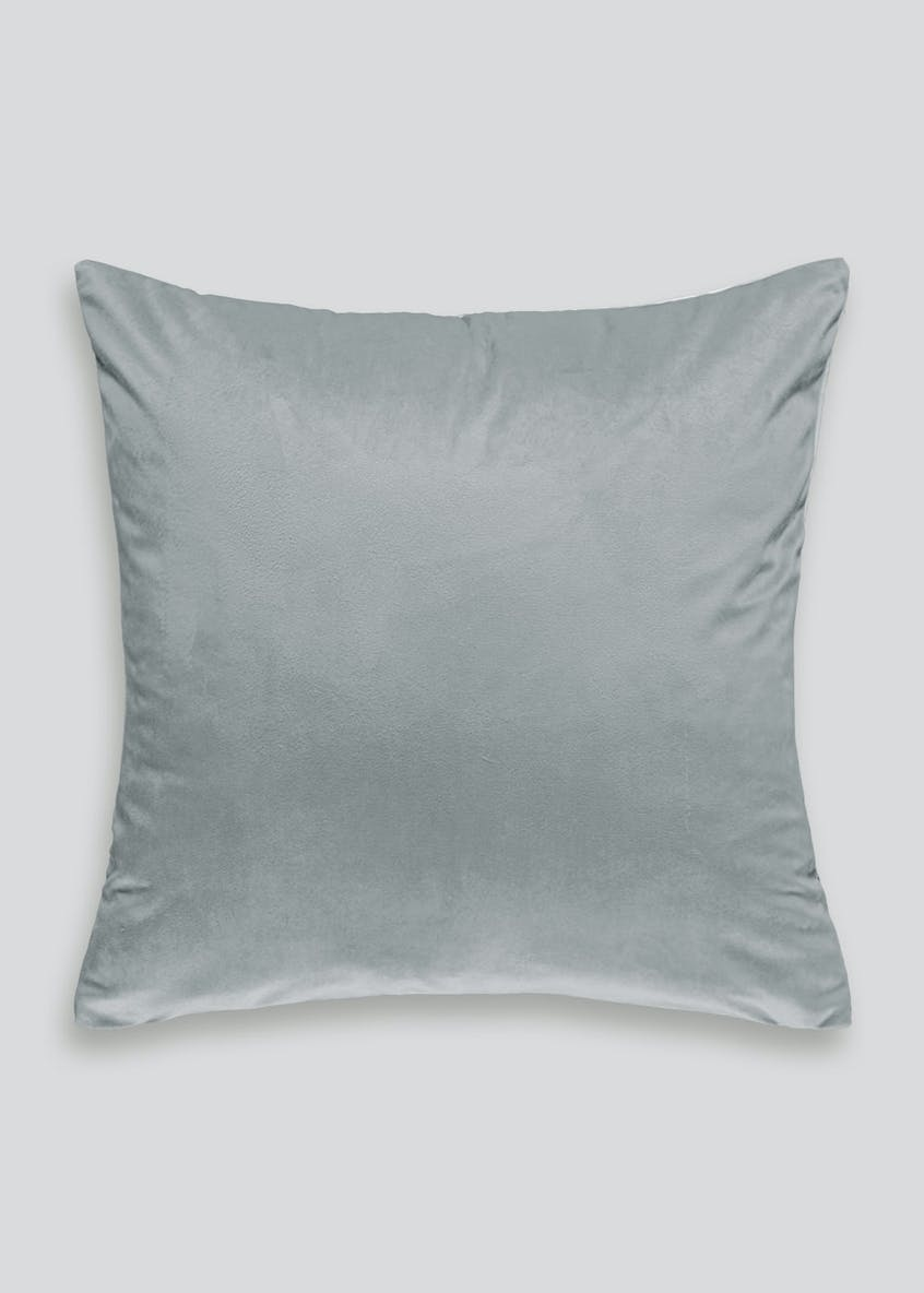 Foil & Sequin Snowflake Cushion (46cm x 46cm)
