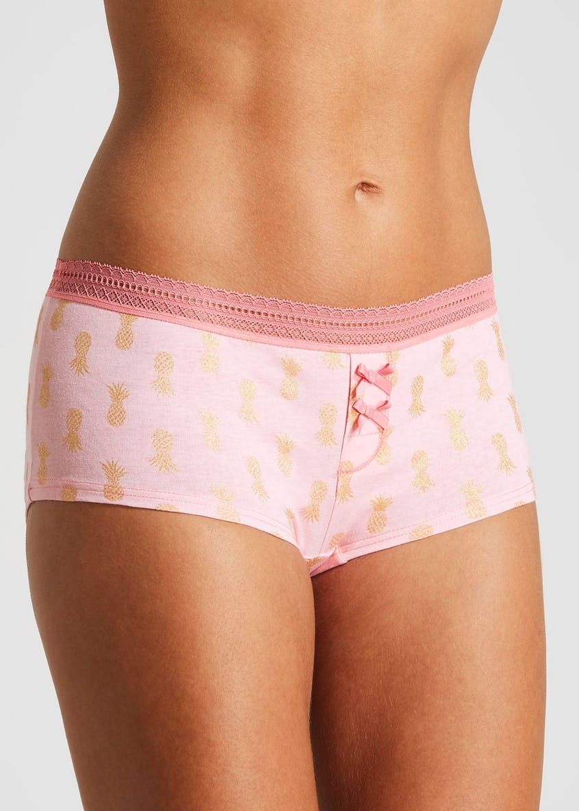 Pineapple Boxer Knickers