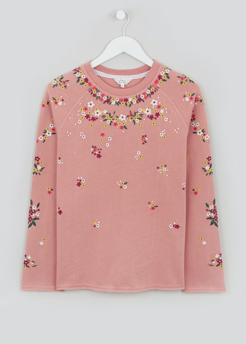 Falmer Floral Embroidered Sweat
