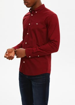 Slim Fit Long Sleeve Oxford Shirt