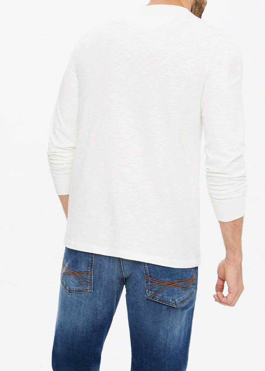 Morley Long Sleeve Henley Top