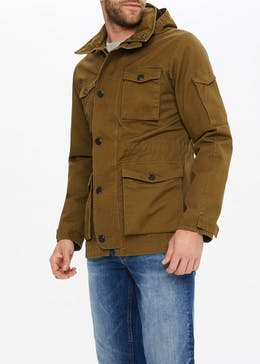 Morley Hooded Utility Jacket