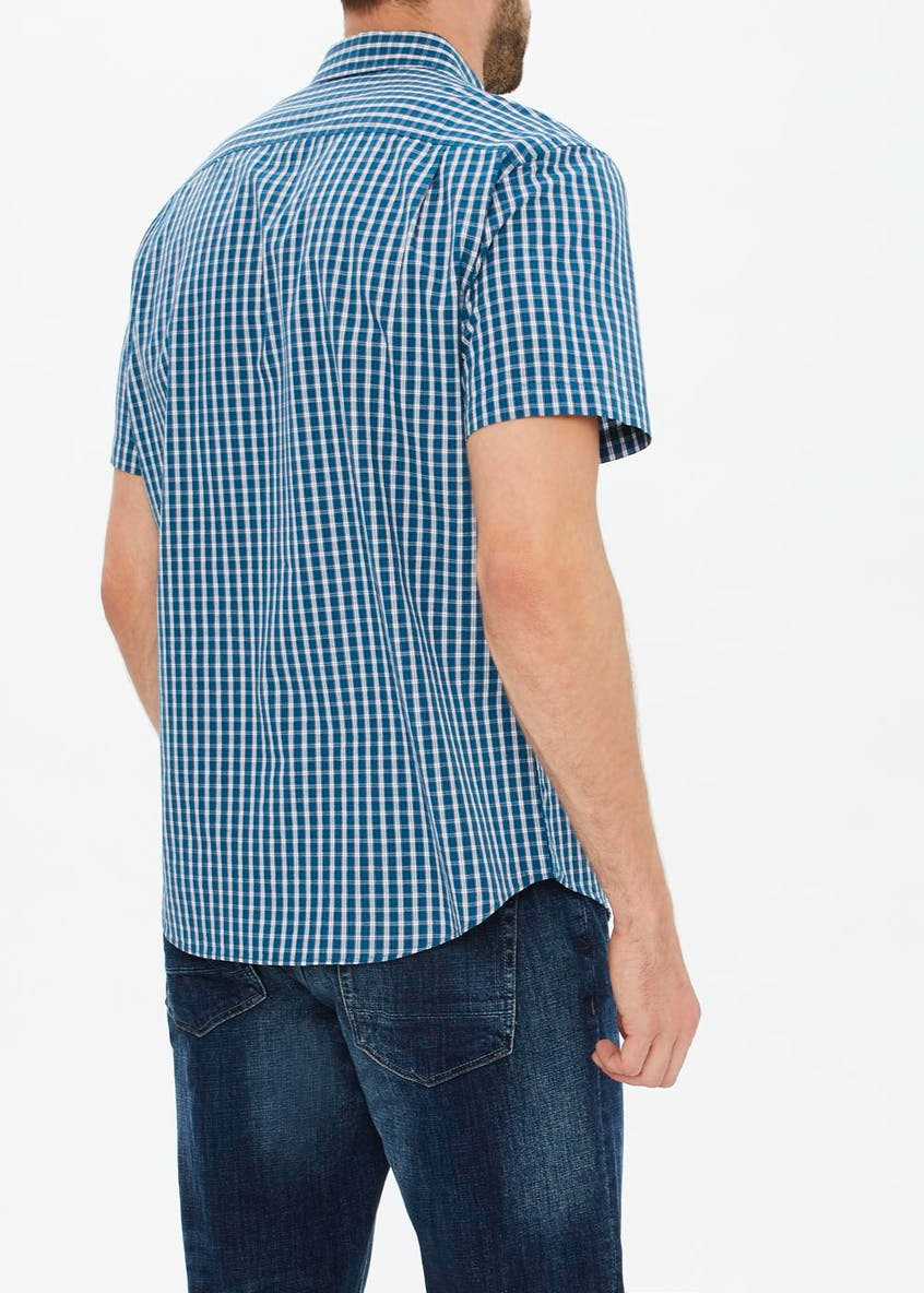Lincoln Window Check Short Sleeve Shirt