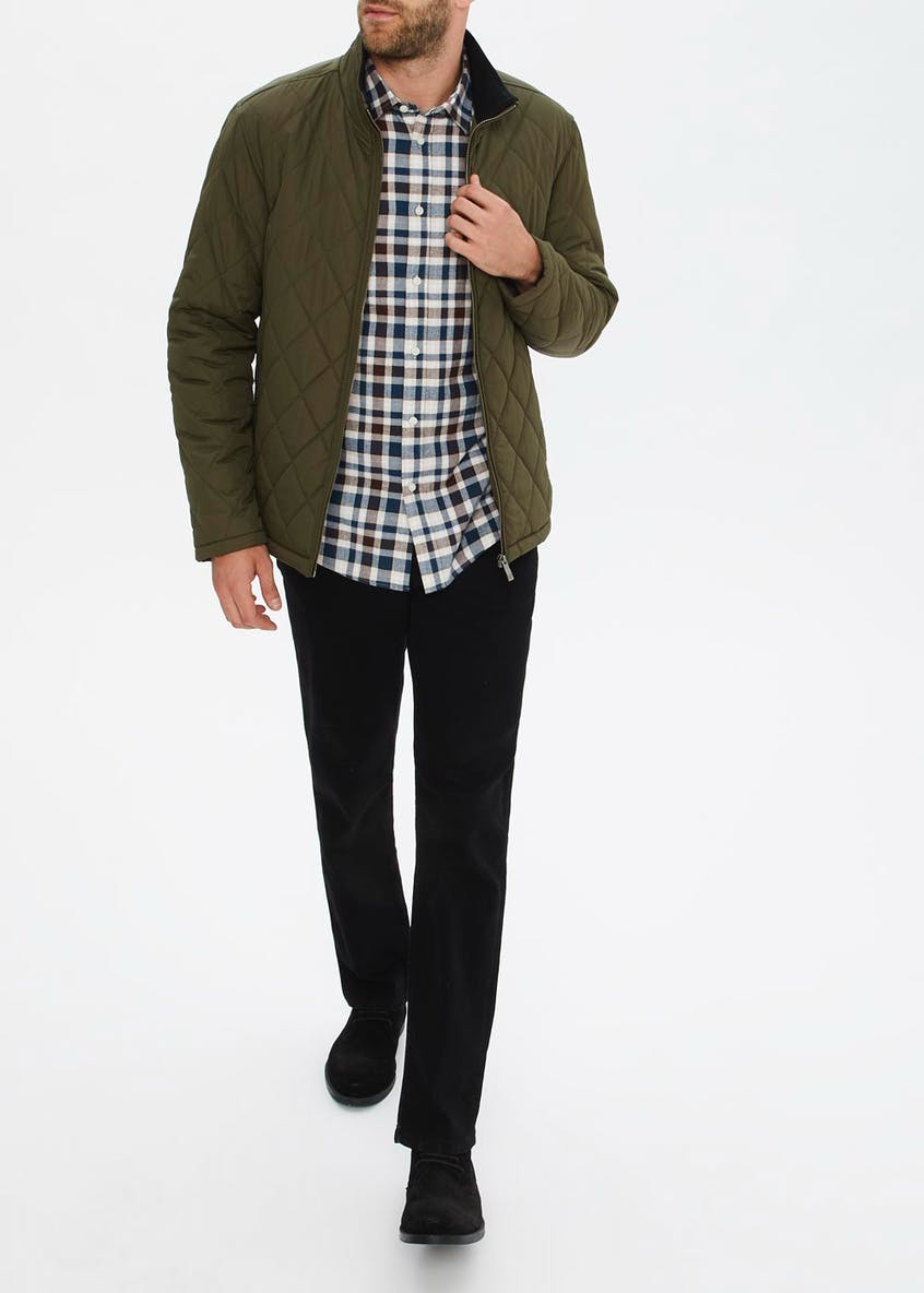 Lincoln Khaki Quilted Jacket