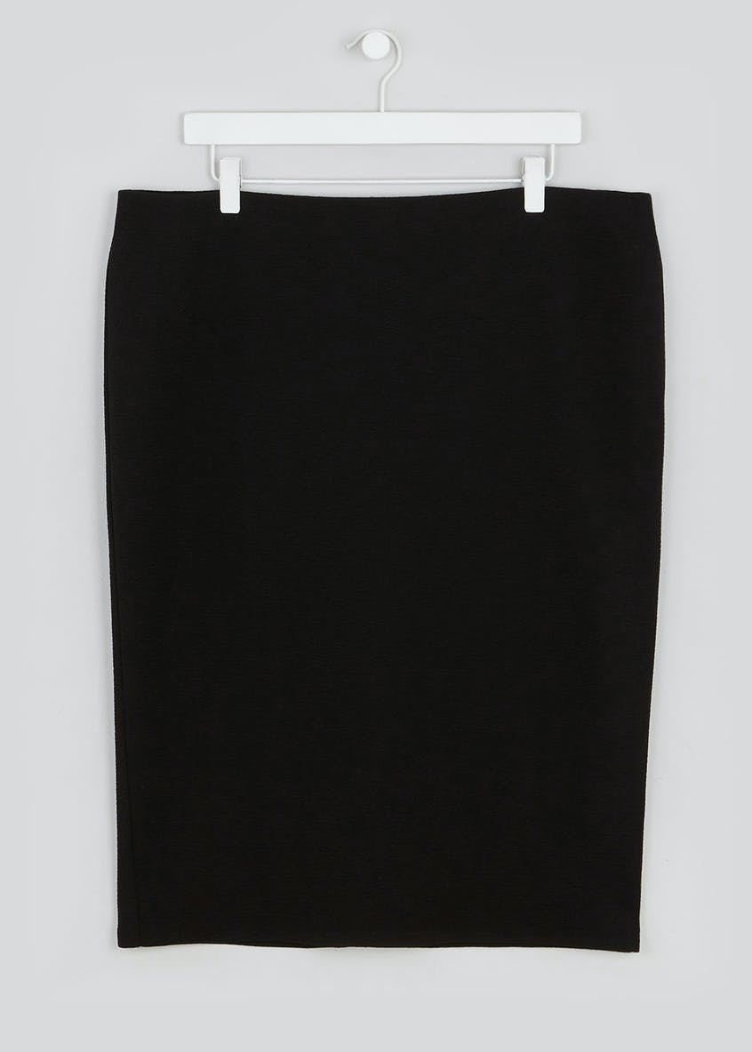 Papaya Curve Jersey Formal Skirt