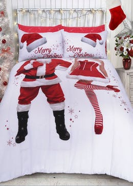 His & Hers Christmas Duvet Cover