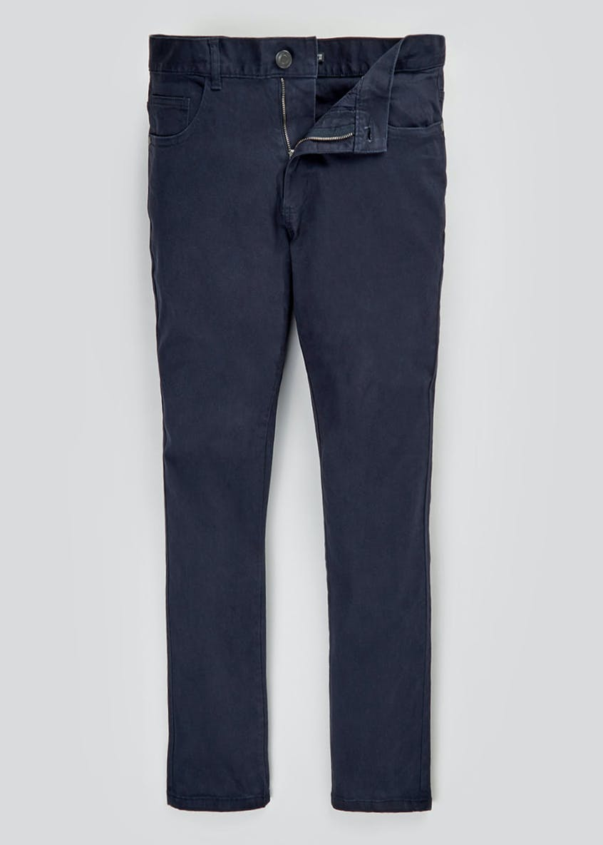 Skinny Fit Stretch Twill Trousers